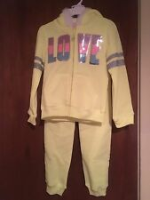 Girls Jogging Suit Size 5