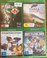 XBOX ONE GAMES FALLOUT4, FORZA HORIZON2, OVERWATCH & BATTLEBORN