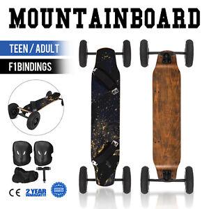 """Mountainboard 39"""" All Terrain Skateboard Longboard Off Road Skateboard Downhill"""
