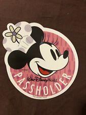 Original Disney Passholder Magnet Minnie Mouse - 2019 Food and Wine Festival