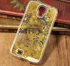 Samsung Galaxy S4 - HARD PHONE CASE COVER Flowing Sparkle Liquid Waterflow Stars