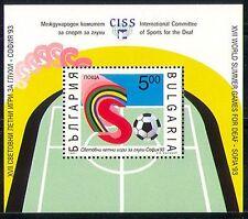 Bulgaria 1993 Sports/Football/Deaf/Disabled m/s n28921