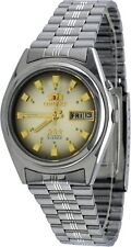 Orient BEM6Q004P Men's 3 Star Stainless Steel Brown Dial Automatic Watch