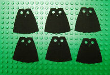 6 custom cape made to fit Lego Darth Vader maul  Grevious Yoda jedi black cloak