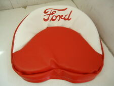Padded Seat Cover Cushion Red White For Ford 9n 2n 8n Naa Jubilee 601 Usa Made