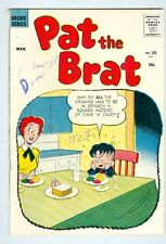 Pat the Brat #25 March 1958 VG