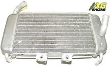 Alloy Radiator Rad with x2 Speed Fasteners For Piaggio NRG 50 Watercooled WC