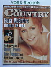 NEW COUNTRY MAGAZINE - July 1998 - Reba McEntire / Randy Travis / Suzy Bogguss
