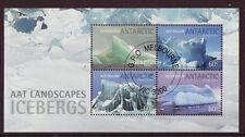 AUSTRALIA ANTARCTIC 2011 SPECIAL OFFER ICEBERGS MINIATURE SHEET  CTO