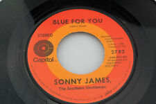 Sonny James: Blue For You / My Love  [Unplayed Copy]