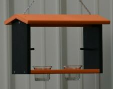 Poly-wood Oriole Double Bird Feeder Nectar, Jelly and Orange Feeder