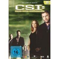 "CSI CRIME SCENE INVESTIGATION ""SEASON 5"" 6 DVD BOX NEU"