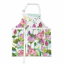 Michel Design Works Chef Apron - Water Lilies