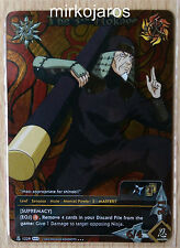 NARUTO CCG WEAPONS OF WAR SUPER RARE WWN-1229 THE 3RD HOKAGE 1ST EDITION [EX]