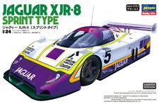 Hasegawa 20418 1/24 Group C Car Model Kit Team Silk Cut Jaguar XJR-8 Sprint Type