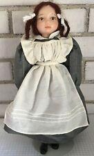 "Polish Boarding School Girl Doll 14"" Poland Guy Luy Hubert OOAK Mary"