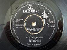 "The Beatles Can't Buy Me Love -1N -1N KT NCB UK 7"" R 5114 1964 VG"