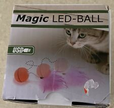 Cat Toy Magic Led Ball