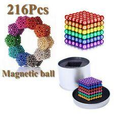 Magnetic Ball Cube Fidget Toys Office Desk Toy Desk Stress Relief (Multicolor)