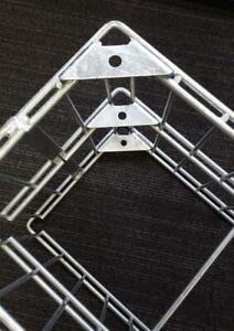 Gabionenwinkel 90° für Eckausbildung Winkelclip Eckverbinder Zaunverbinder