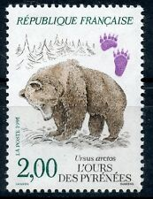 STAMP / TIMBRE FRANCE NEUF N° 2721 ** FAUNE / OURS DES PYRENEES