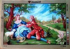 "Needlepoint tapestry canvas.Flert 60x80cm(23.5x31.5"") Diamant C963"