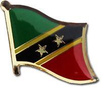 Wholesale Pack of 6 Kenya Country Flag Bike Hat Cap lapel Pin