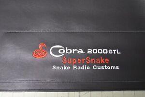 Cobra 2000 GTL SuperSnake with 2 Speakers Unit Signature Series Dust Cover