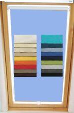 Verdunkelungsrollo Thermo für Velux Dachfenster GGL GPL GHL 18 Farben Abdunklung