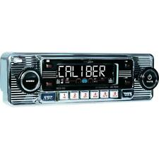 Retro VW Beetle Style CD Player Chrome Front with AM/FM Radio/USB/SD/Aux In