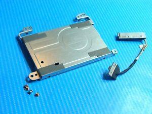"""HP Pavilion TS 15-b129wm 15.6"""" Hard Drive Caddy w/Connector Screws DD0U36HD000"""