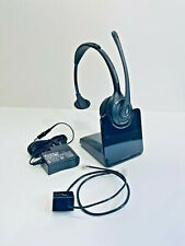 Plantronics- CS510 Convertible Wireless Monaural Headset Over-the-Head DECT 6.0