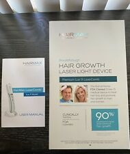 Hairmax Premium Lux 9 Hair Growth Laser Light Comb - Excellent Condition