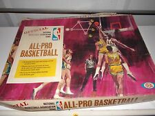 VINTAGE IDEAL 1969 All-Pro Basketball Board Game, Complete Ideal Toy Co