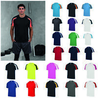 AWDis Just Cool Contrast Cool T-Shirt - Men Team Sports/football polyester tee