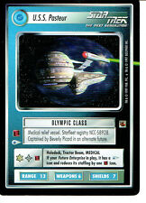 STAR TREK CCG THE FAJO COLLECTION, U.S.S. PASTEUR RARE CARD