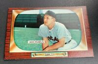 1955 Bowman # 85 Cass Michaels Baseball Card Chicago White Sox