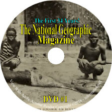 The National Geographic Magazine Geography Maps Articles 350 Issues on DVD
