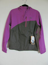 Outdoor Research Panorama Point Jacket-Waterproof-Violet/Charcoal-Sze Small-NWT