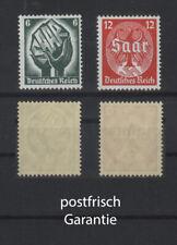 III. Reich: Saar-Abstimmung 544 - 545 postfr. ** MNH    19-365