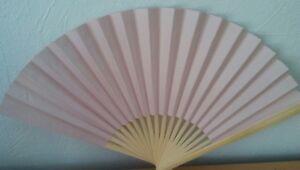 10 x Fächer Handfächer Taschenfächer Papier Fächer Hochzeit Deko Sommer rosa