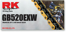 RK GB 520 Pitch Motorcycle ATV Gold XW-Ring Chain EXW X 110 LINKS GB520EXW-110