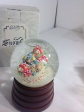Willetts Designs Snowfall Boutique Musical Snowglobe New In Box 1992 Vintage