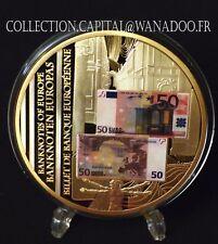 Médaille Billets de Banque de L'Europe 50 Euros Europa 2011