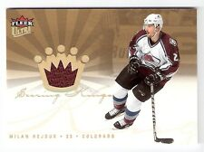 Milan Hejduk Avalanche 2005-06 Ultra Scoring Kings Jersey Card #SKJ-MH