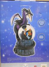 Disney Multi Villians With Dragon Snowglobe Plays Tocatta & Fugue