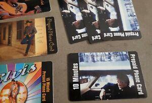 JON BON JOVI Collectible 10 Minute Phone Card 1999, Mercury Records Unused NEW