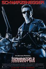Terminator 2 Judgment Day Arnold Schwarzenegger Movie Poster 24x36 Inches