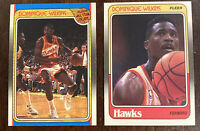 1988-89 Fleer Dominique Wilkins #5 #125 All Star