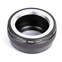 FOTGA M42 Lens to Micro 4/3 Adapter for Panasonic GF6 GX7 GH3 Olympus E-M5 E-PL5